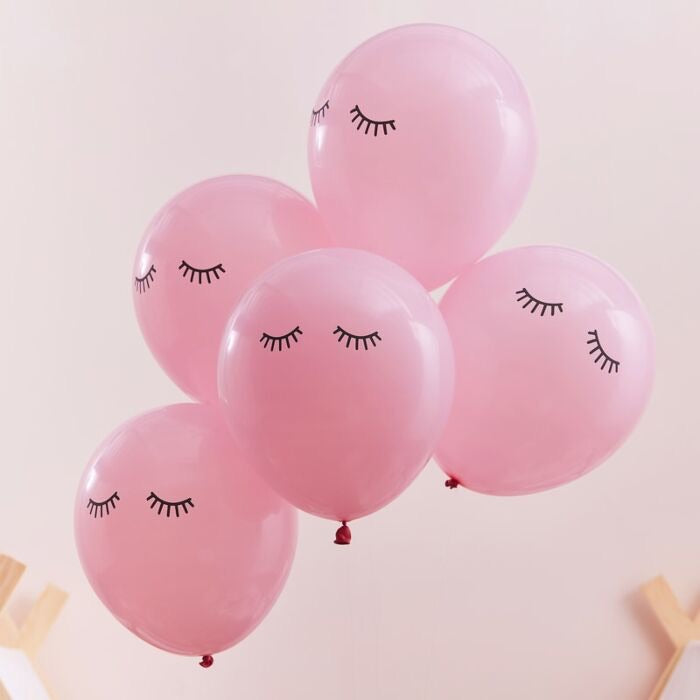 Sleepy Eyelash Balloons