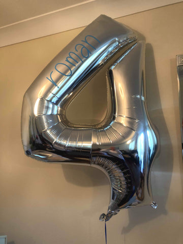 Number Balloon Personalisation