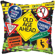 Old Age Ahead Balloon