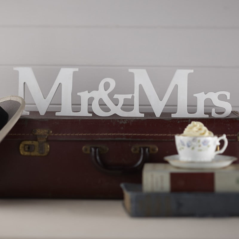 Mrs & Mrs Wooden Sign