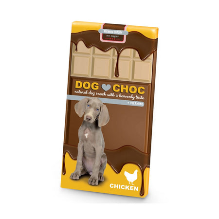 Dog choc chicken