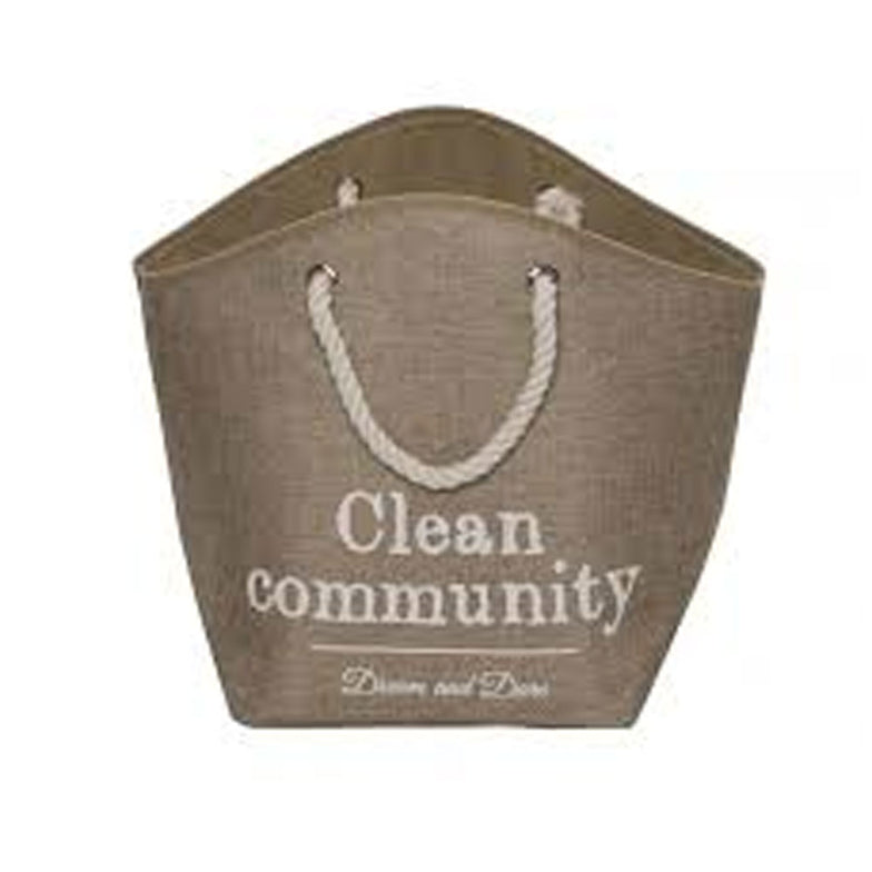 Pet Cave Laundry Bag beige
