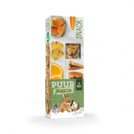 Puur Pauze Sticks Orange & Papaya