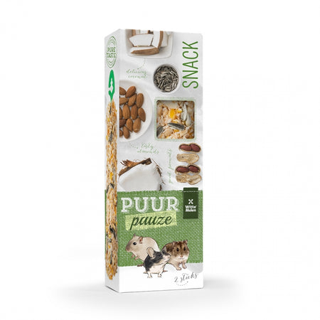 Puur Pauze Sticks Mandel & Erdnuss
