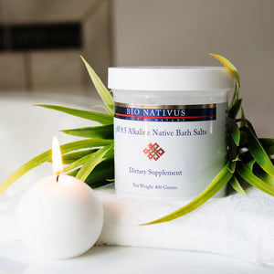 Organic Bath Salt Powder - All Natural Minerals & Nutrients for Relaxing Herbal Detox From The Great Salt Lake