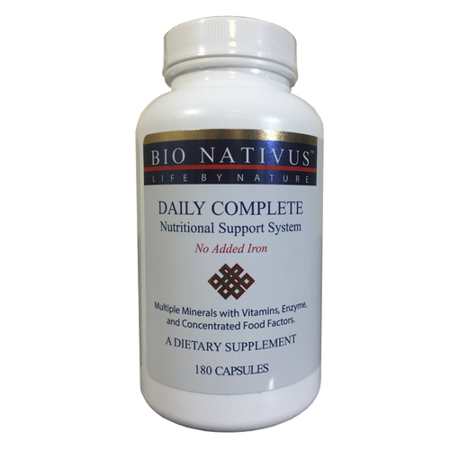 Daily Complete Vitamins & Minerals (Iron Free)
