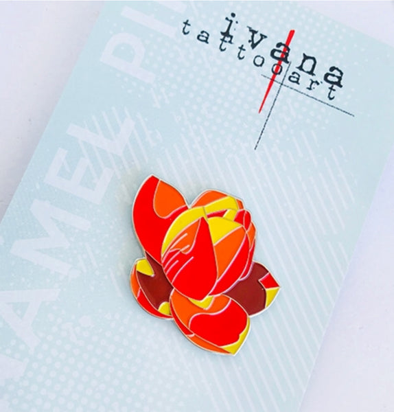 Lotus TWO Enamel Pin