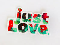 just LOVE Sticker Mint