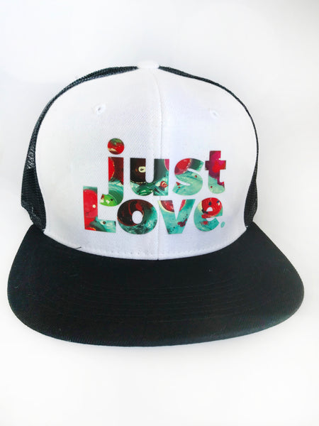 just Love HAT Black/White