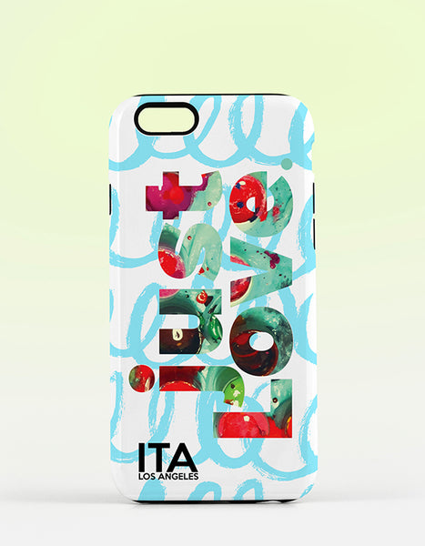 just Love MINT iPhone Case