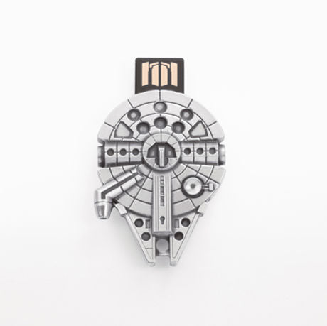 Royal Selangor Hand Finished Star Wars Collection Pewter Mellenium Falcon Flash Drive (16GB)