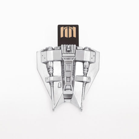 Royal Selangor Hand Finished Star Wars Collection Pewter Snowspeeder Flash Drive (16GB)