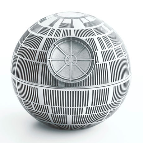 Royal Selangor Hand Finished Star Wars Collection Pewter Death Star Trinket Box
