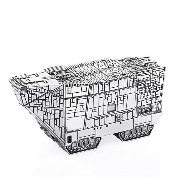 Royal Selangor Hand Finished Star Wars Collection Pewter Sandcrawler Trinket Box