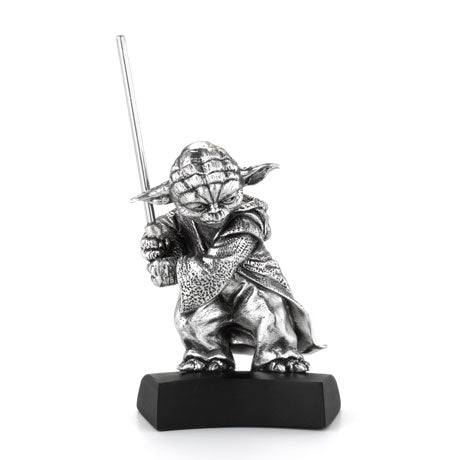 Royal Selangor Hand Finished Star Wars Collection Pewter Yoda Figurine