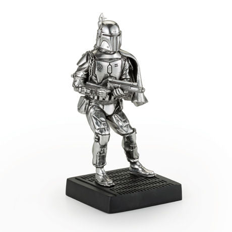 Royal Selangor Hand Finished Star Wars Collection Pewter Boba Fett Figurine