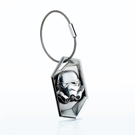 Royal Selangor Hand Finished Star Wars Collection Pewter Imperial Stormtrooper Keychain