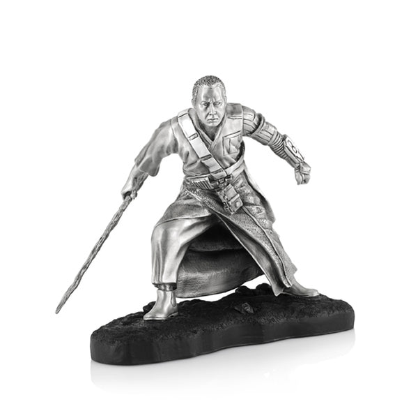 Royal Selangor Hand Finished Star Wars Collection Pewter Limited Edition Chirrut Figurine