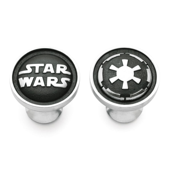 Royal Selangor Hand Finished Star Wars Collection Pewter Galactic Empire Cufflinks