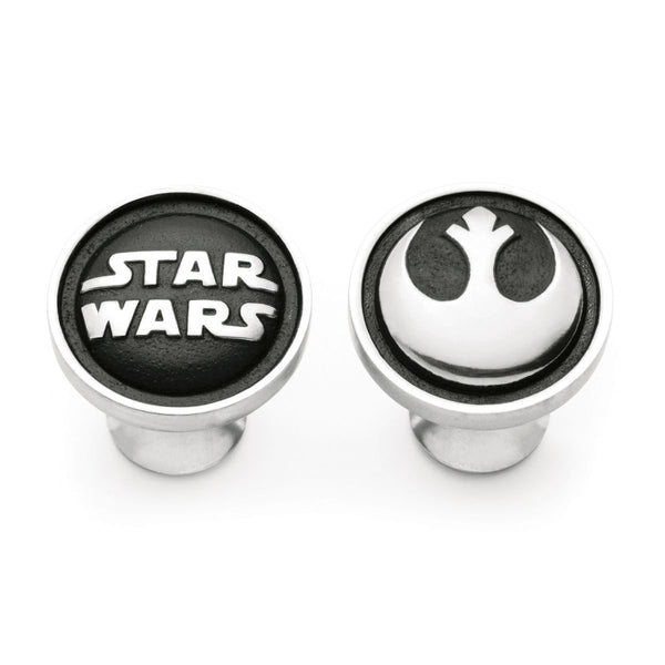 Royal Selangor Hand Finished Star Wars Collection Pewter Rebel Alliance Cufflinks