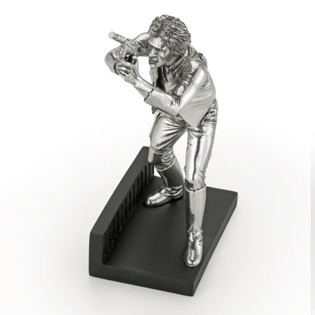 Royal Selangor Hand Finished Star Wars Collection Pewter Limited Edition Han Solo Figurine