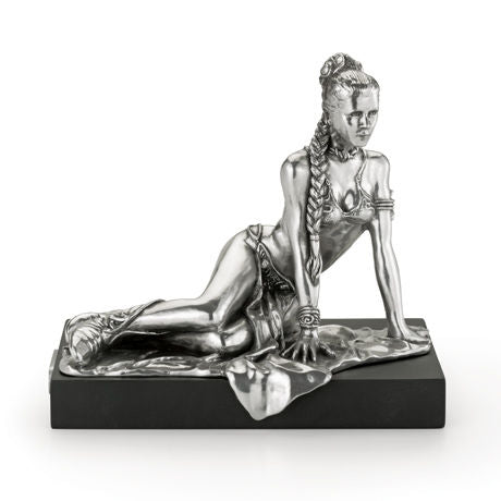 Royal Selangor Hand Finished Star Wars Collection Pewter Limited Edition Princess Leia Figurine