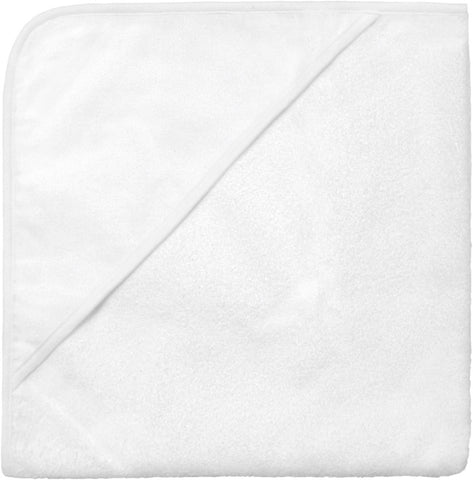 Baby Hooded Towel - White