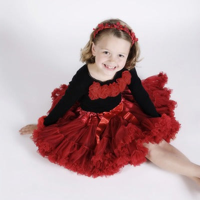 Little Ladies One Tone Pettiskirts