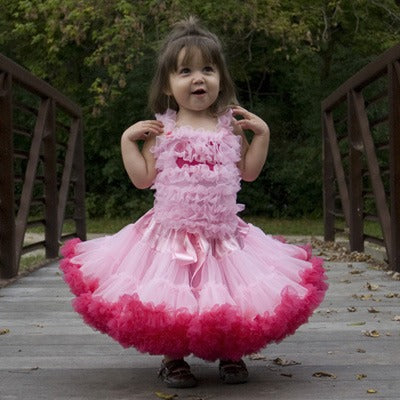 Little Ladies Two-Tone Pettiskirts