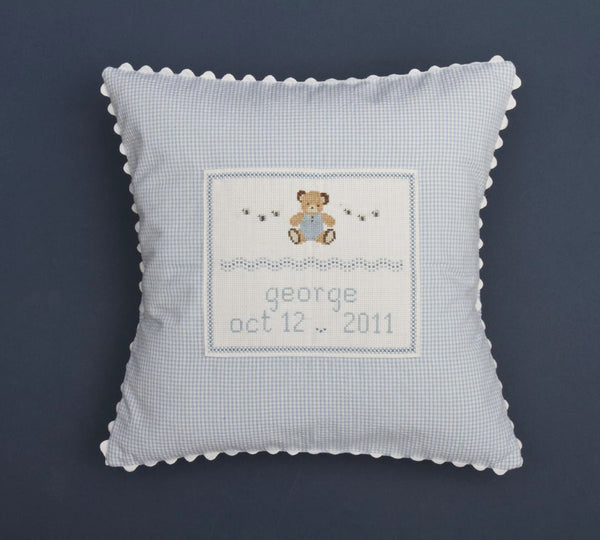 Teddy Bear Personalized Pillow