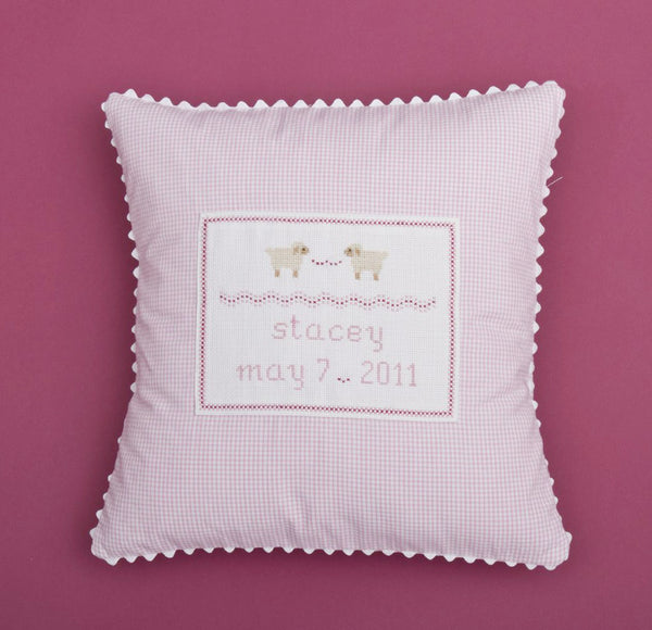 Baby Lamb Personalized Pillow