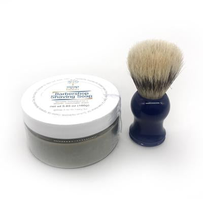 Barbershop Shaving Soap with brush