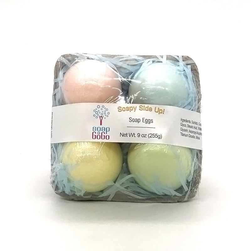 Soapy Side Up! - Egg soap gift set