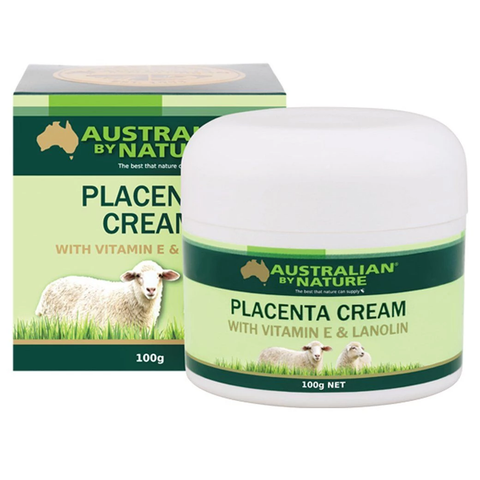 Australian by nature-placenta cream with vitamin E and lanolin 100G
