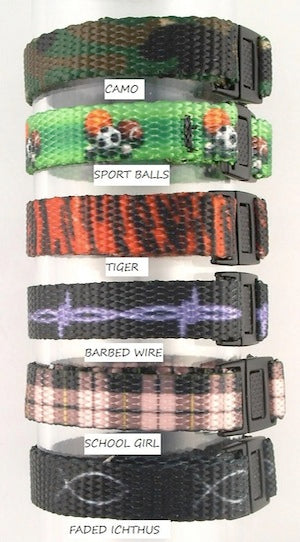 Photo of Interchangeable Medical ID bracelets Boys