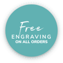 Free engraving on all orders