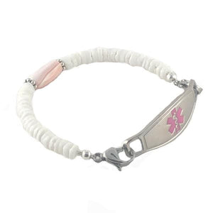 Aloha Beaded Medical ID Bracelet - n-styleid.com