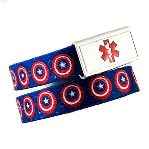 Captain Medical Alert Bracelet - n-styleid.com