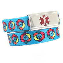 Flower Power Medical Alert Bracelet