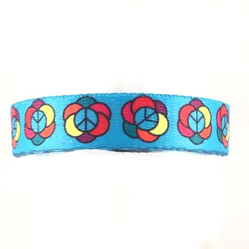 Flower Power Medical ID Band Without ID Tag - n-styleid.com