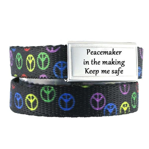 Peace Identification Bracelet - n-styleid.com