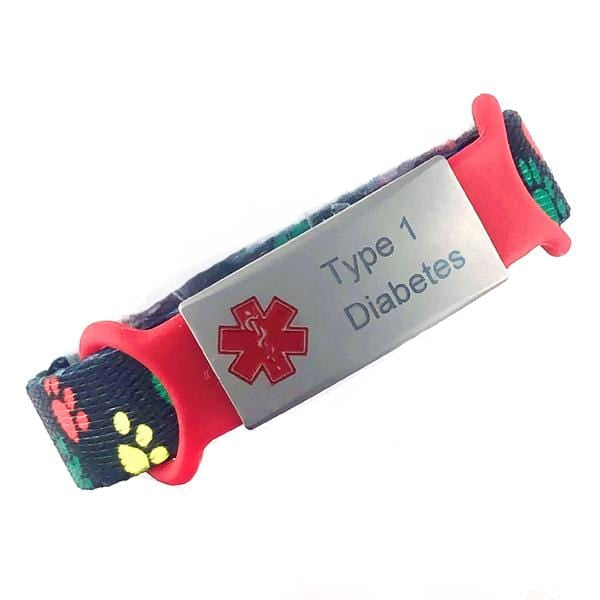 Type 1 Diabetes Kids Medical Bracelet - n-styleid.com