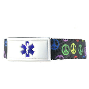 Peace Medical Alert Bracelet - n-styleid.com
