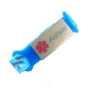 Autism Nylon Medical Alert Bracelet - n-styleid.com
