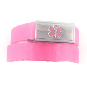Princess Pink Medical ID Bracelet