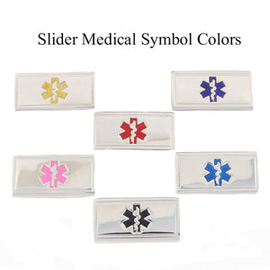 Unicorns & Rainbows Value Pack Medical Bracelets