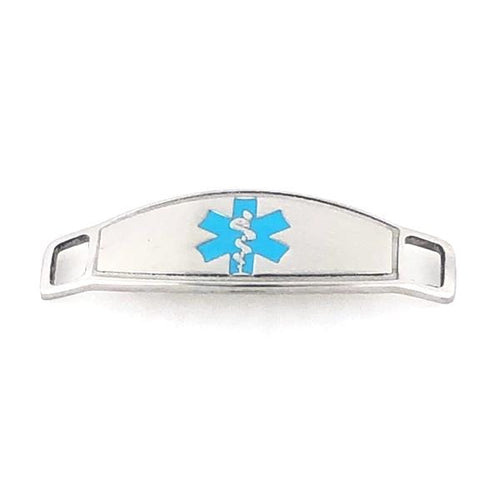 Turquoise Contempo Medical ID Tag - n-styleid.com