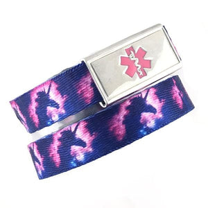 Unicorn Medical Alert Bracelet - n-styleid.com