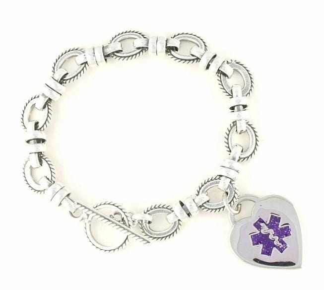 Antiqued Medical Charm Bracelet - n-styleid.com