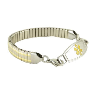 Ares Stretch Medical ID Bracelets - n-styleid.com